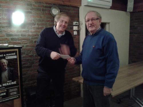 Wim Magré 30 jaar bij ons koor